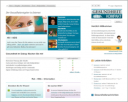Screenshot des neuen Layouts von Gesundheitkompakt.de